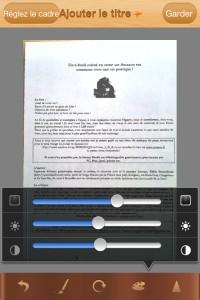 Pour nommer le document, vous cliquez sur le petit +