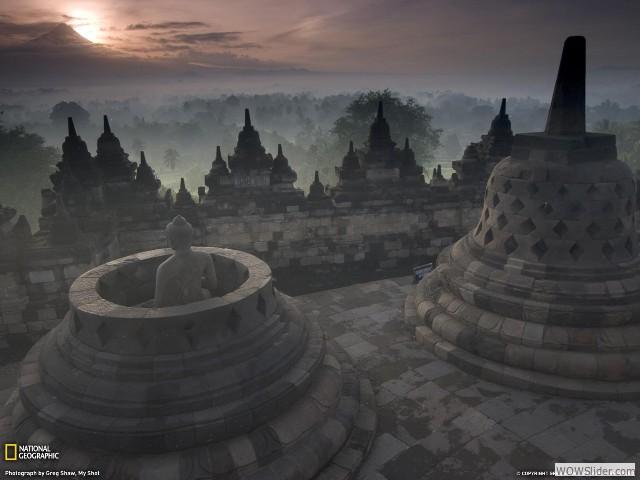 Borubudur - Indonésie
