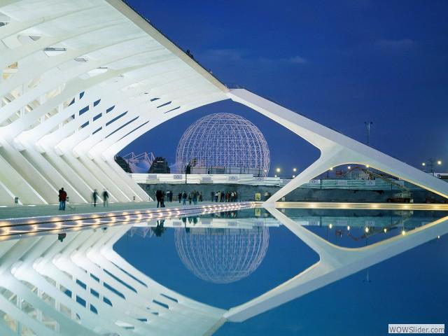 Cité des Arts & des Sciences - Valence, Espagne